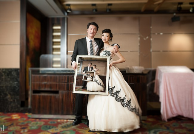 台北婚攝 彥能&怡璇  婚禮攝影@陶園經典